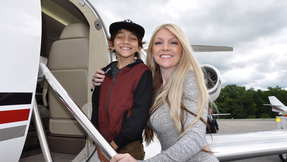 NetJets Corporate Angel Network charity business jets fractional ownership
