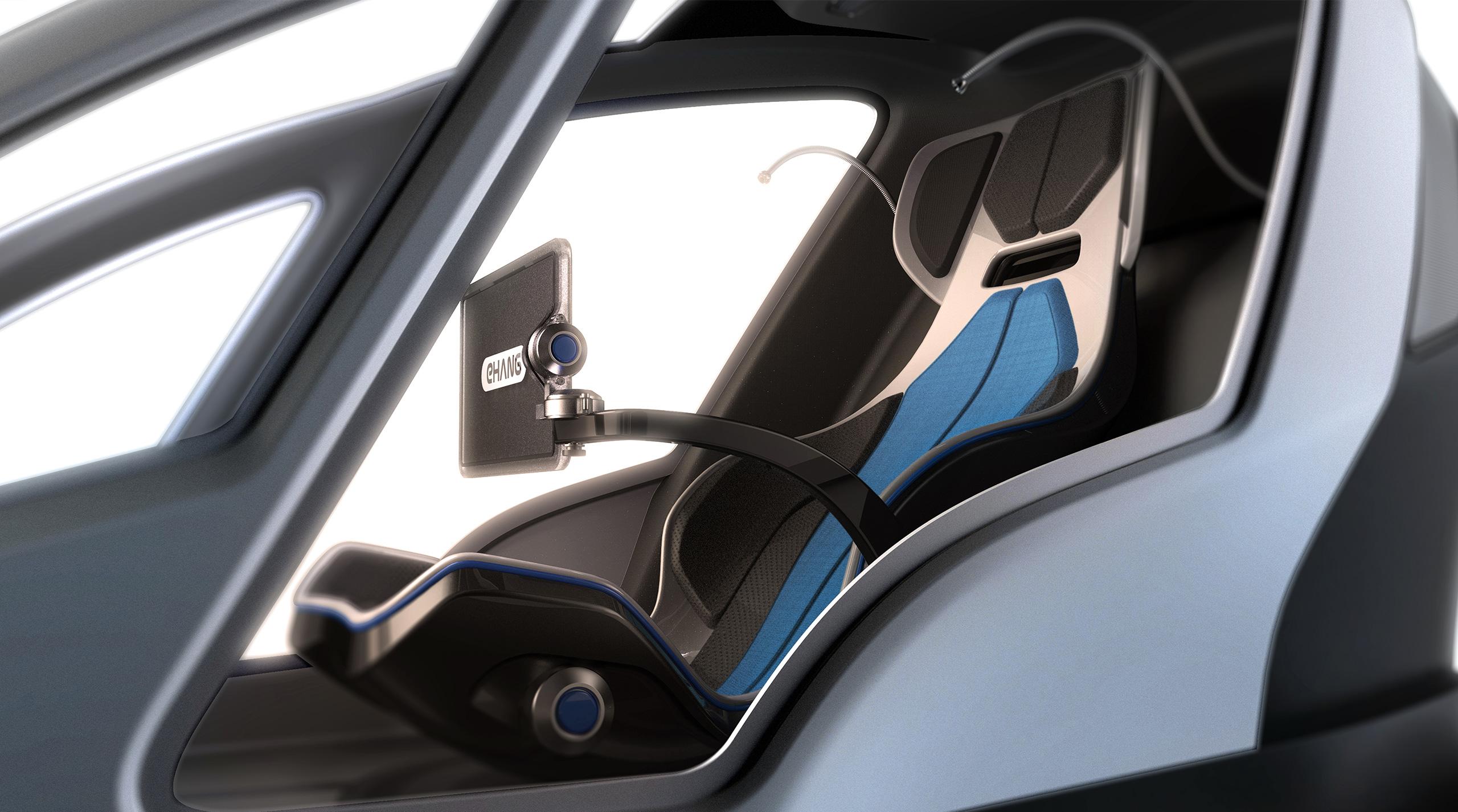eHang Autonomous Aerial Vehicle