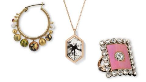 Colorful Enamel Jewelry