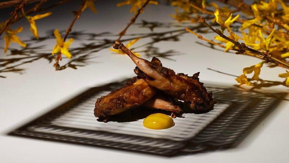 roast quail gaggan