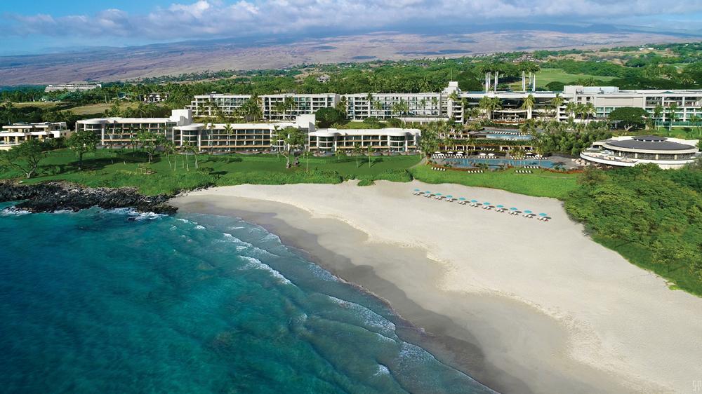 Hapuna Beach Residences aerial