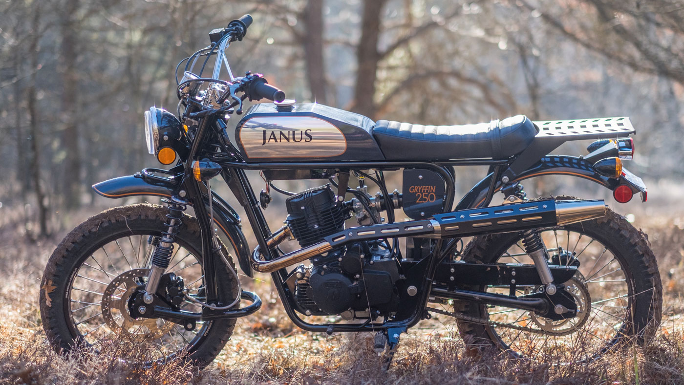 The Gryffin 250 from Janus Motorcycles.