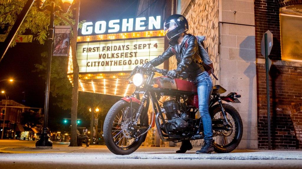 The Phoenix 250 from Janus Motorcycles.