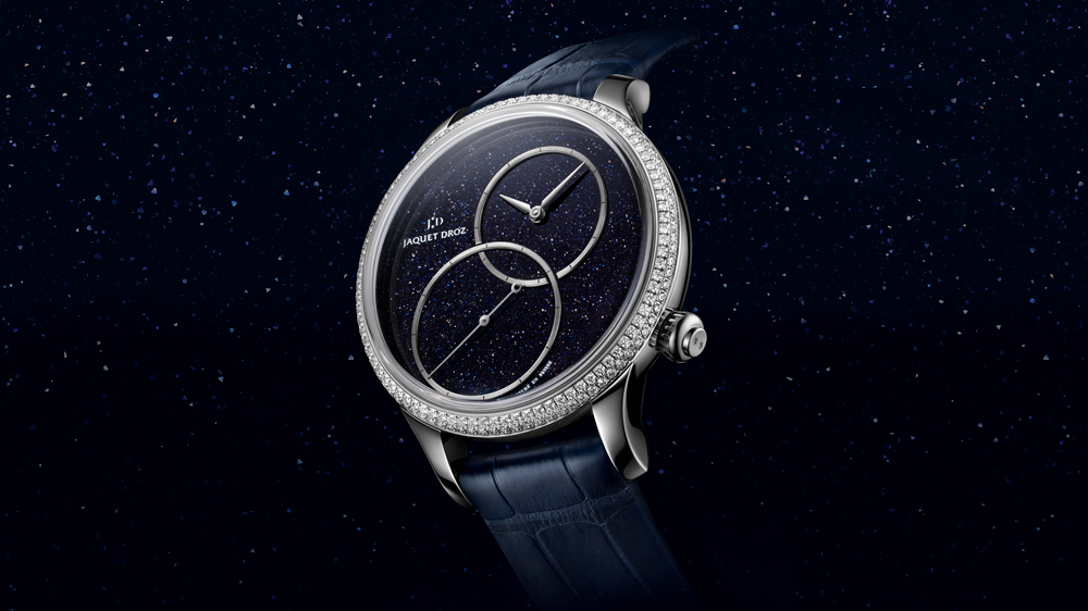 Jaquet Droz Grande Seconde Off-Centered Aventurine watch