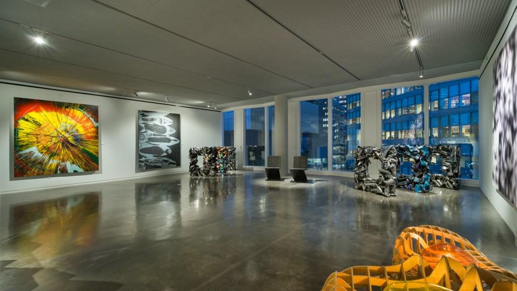 gallery-style art loft in New York City