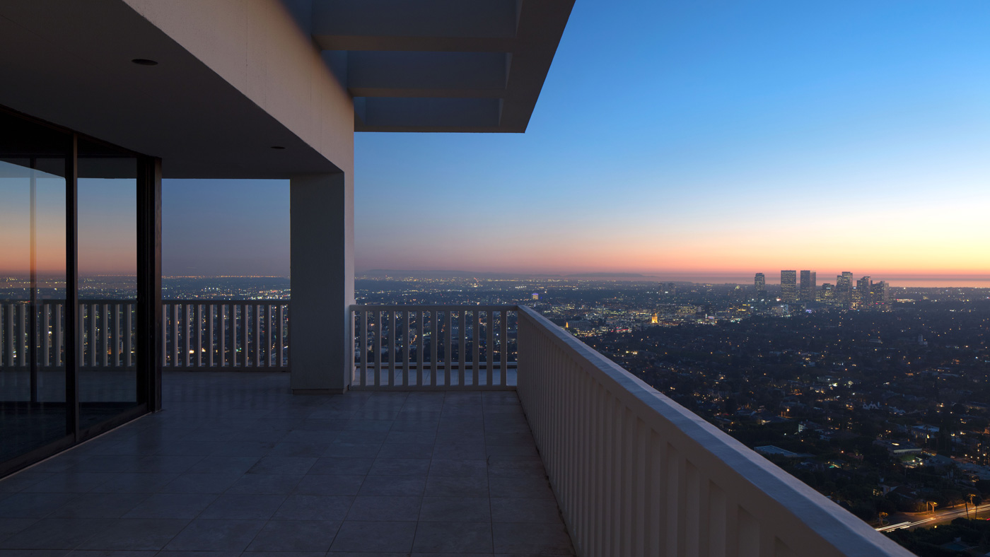 penthouse at Sierra Towers in West Hollywood