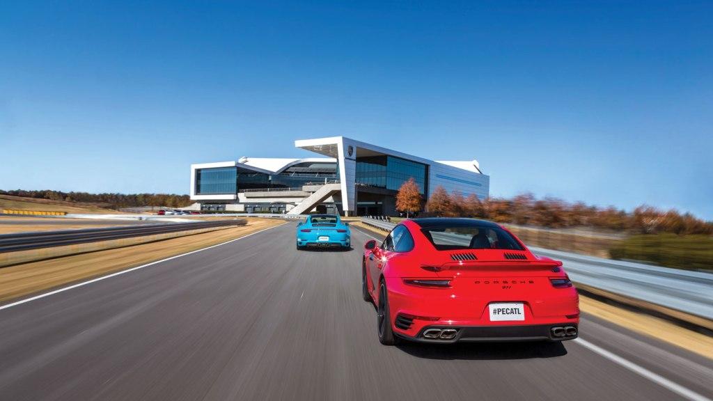 The Porsche Experience Center in Atlanta, Ga.
