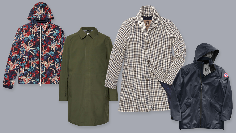 Luxury Men's Raincoats