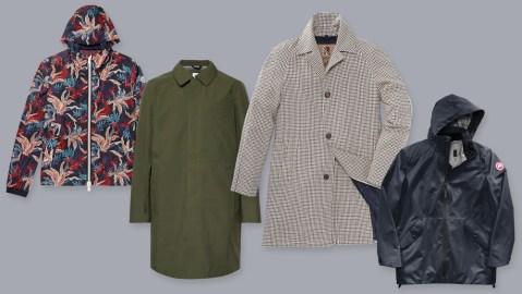 Luxury Men's Raincoats