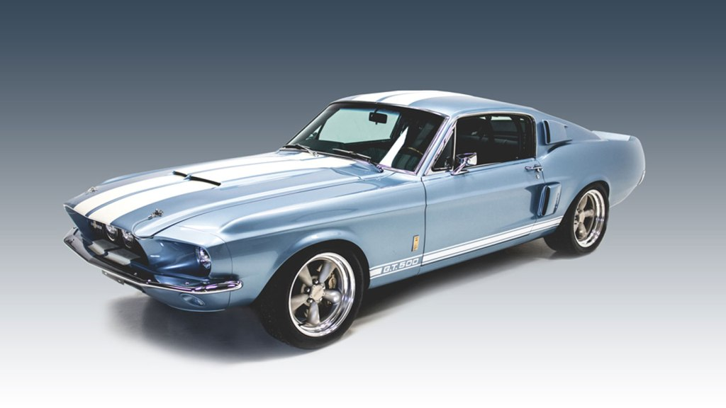 The Revology 1967 Shelby GT500.