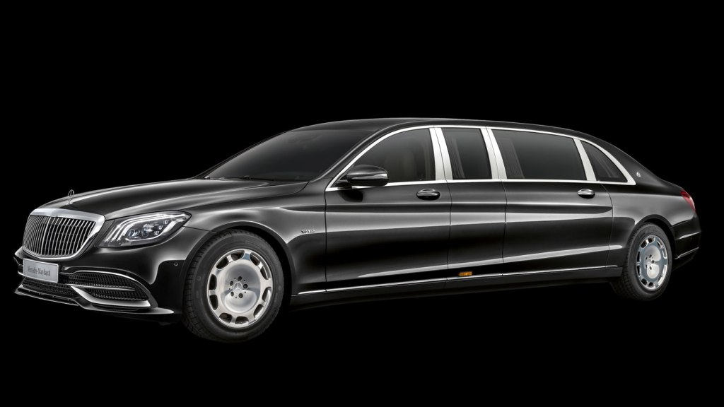 The Mercedes-Maybach Pullman.