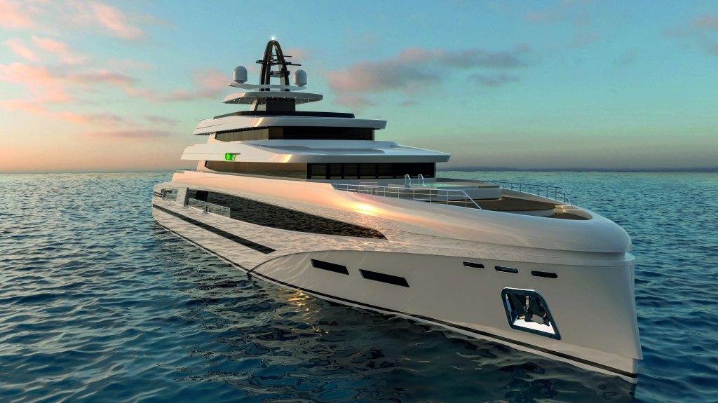 Rosetti 85 meter Tommasso Spadolini Superyacht