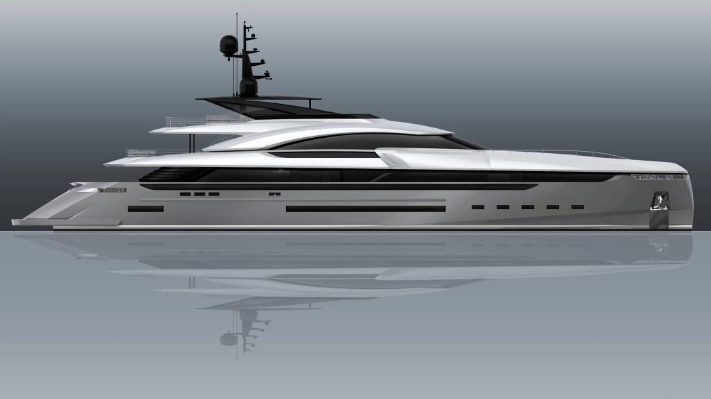 Rossinavi's custom superyacht 164-foot Vector