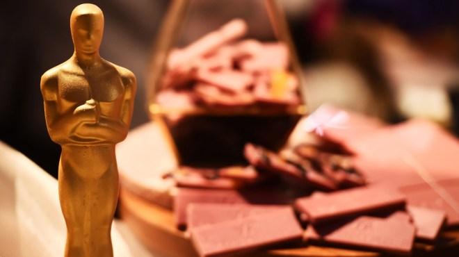 Ruby chocolate and chocolate Oscar