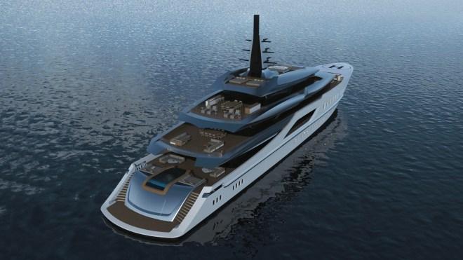 Tankoa S801 superyacht