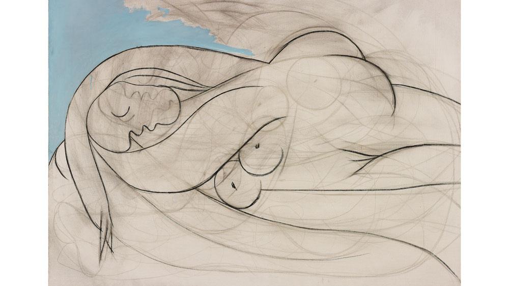 Pablo Picasso's Sleeping Nude