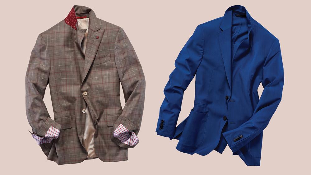Isaia and Z Zegna jackets
