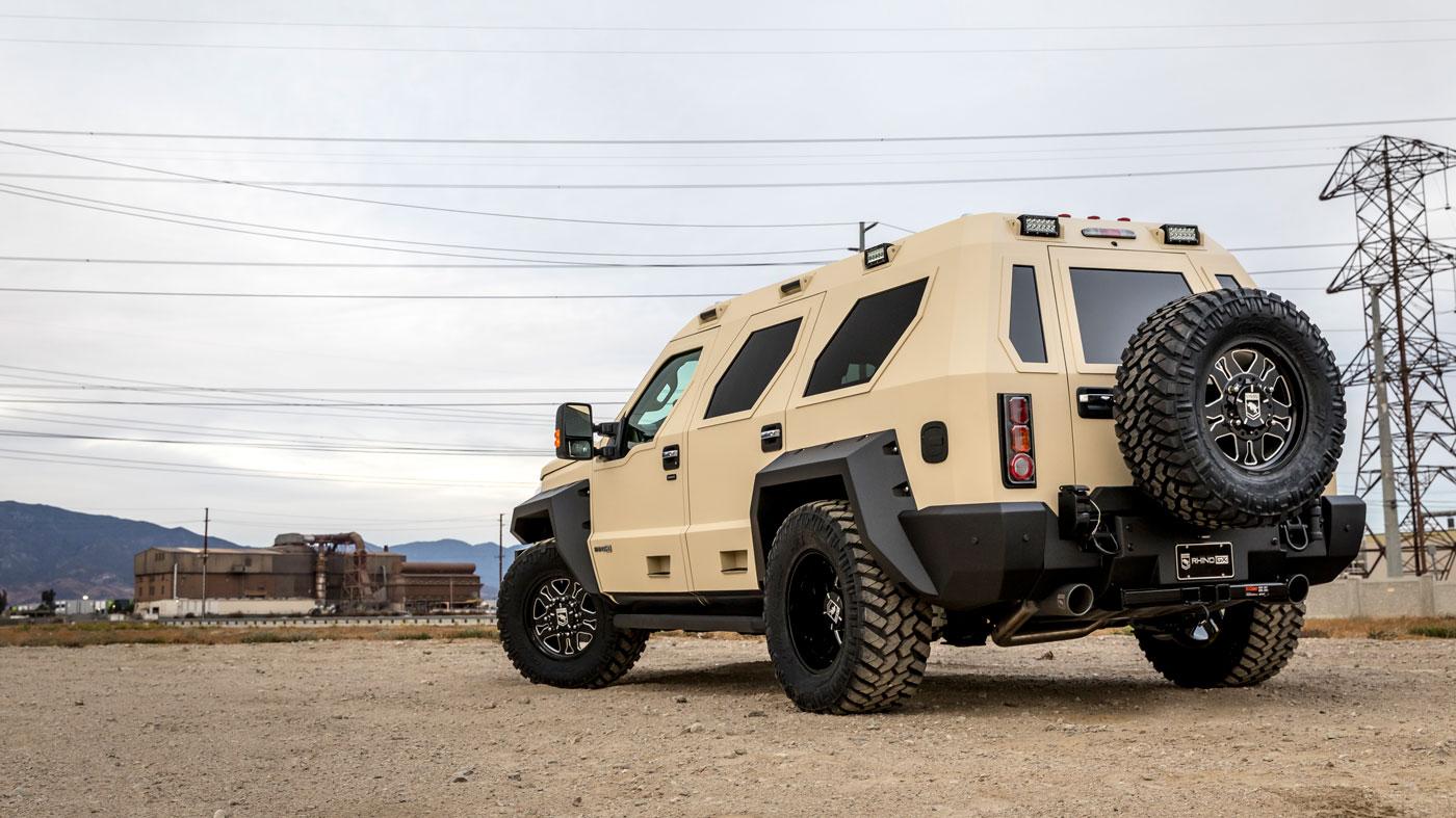 The Rhino GX Executive Model from U.S. Specialty Vehicles.