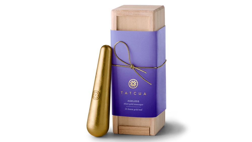 Tatcha skincare Gold Massager
