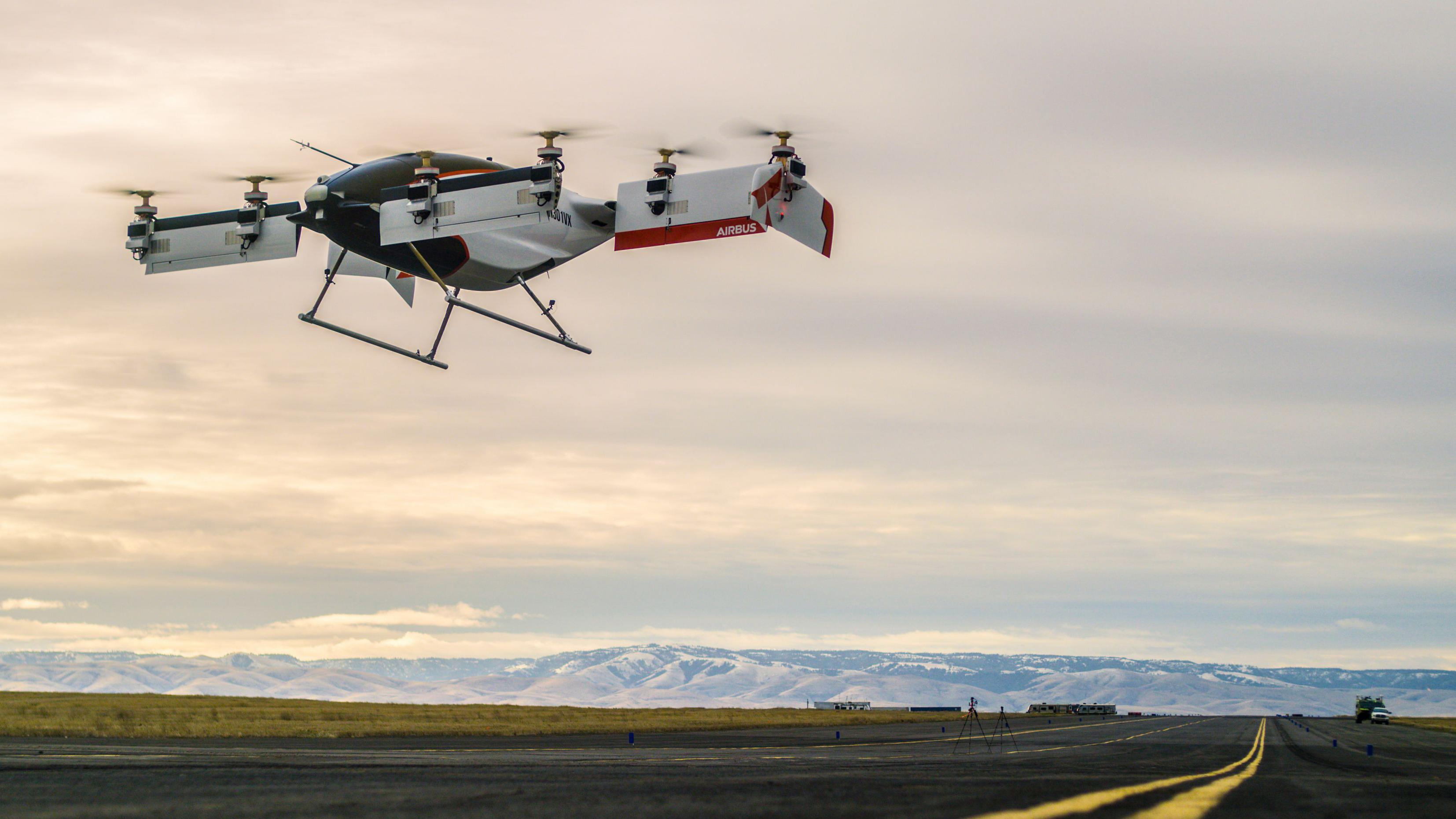 Airbus A3 Vahana autonomous electric aircraft