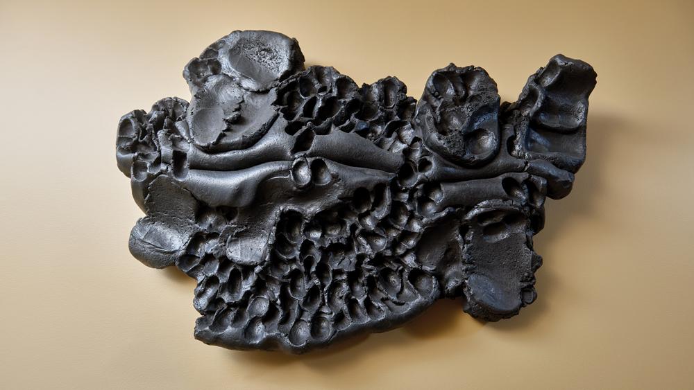 Vertical Ceramic Sculpture Hoshino Satoru