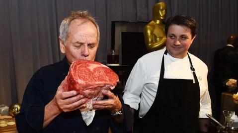 Wolfgang Puck and Miyazaki wagyu beef