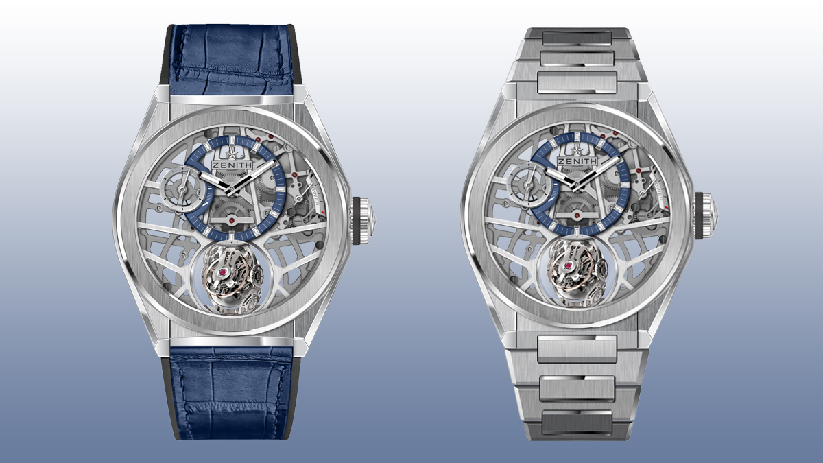 Zenith Defy Zero G watch