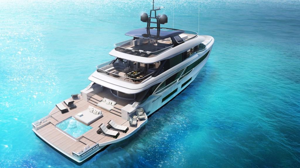 Benetti Oasis 135 concept yacht