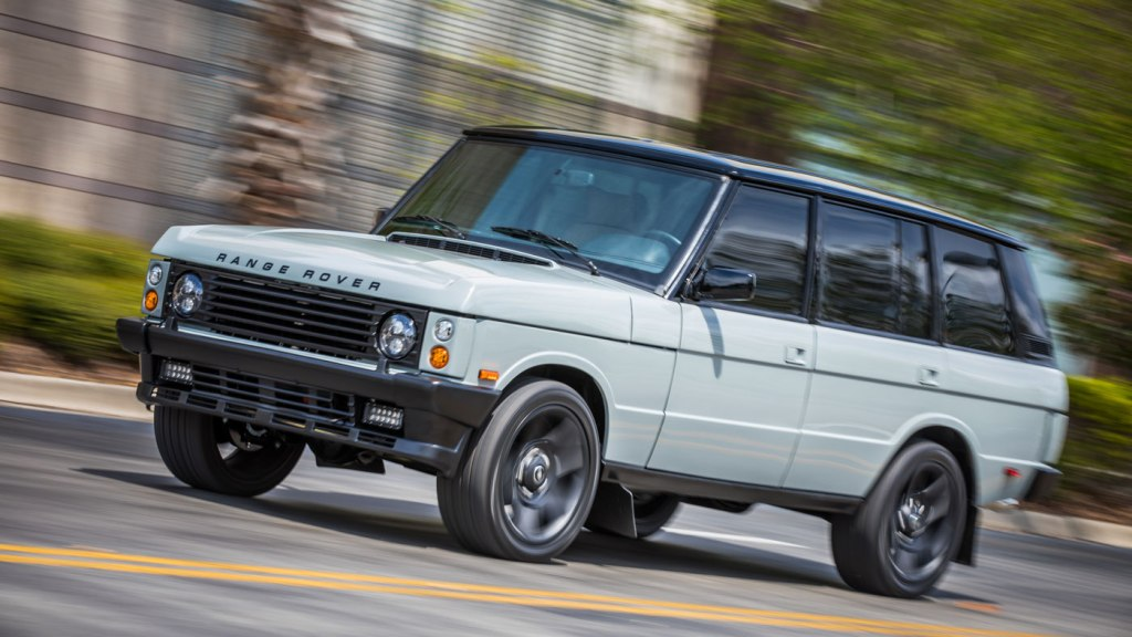 East Coast Defender's Range Rover Classic.