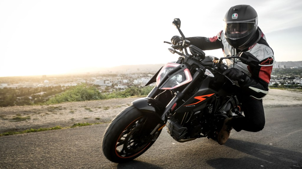 The KTM 1290 Super Duke R.