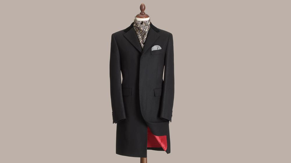 Crombie Retro Overcoat