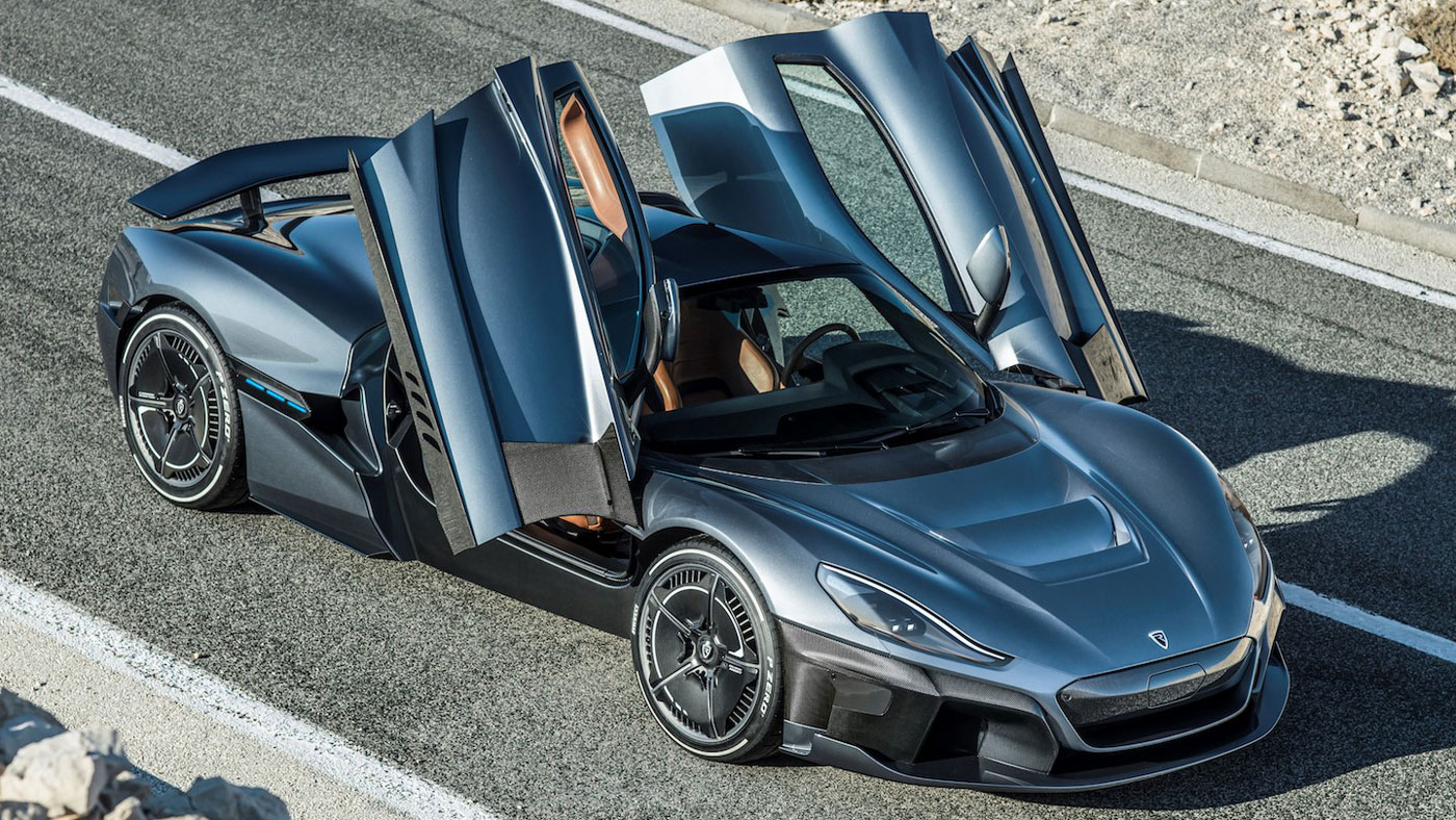 The Rimac Concept Two hypercar.