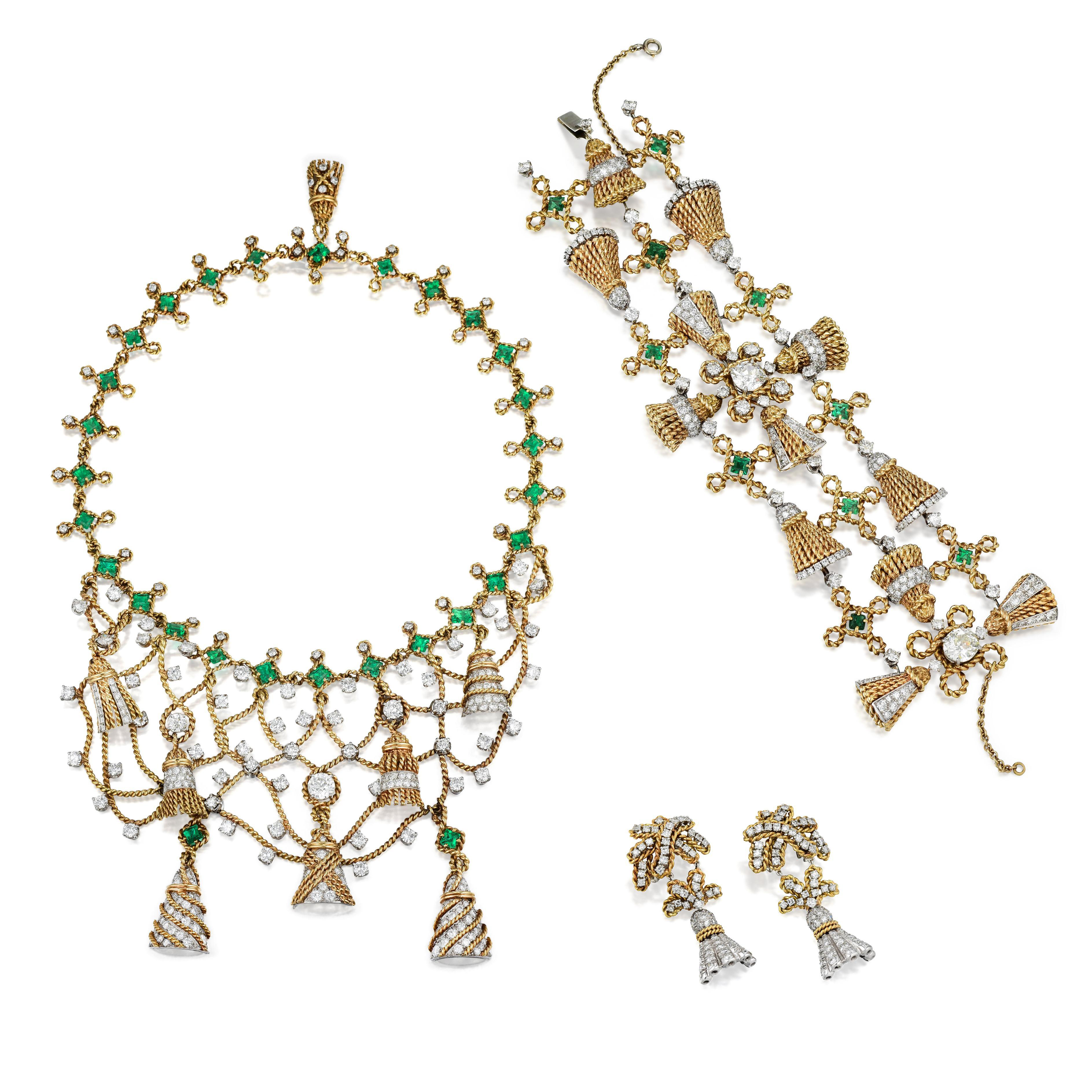 Jewelry suite by Jean Schlumberger.