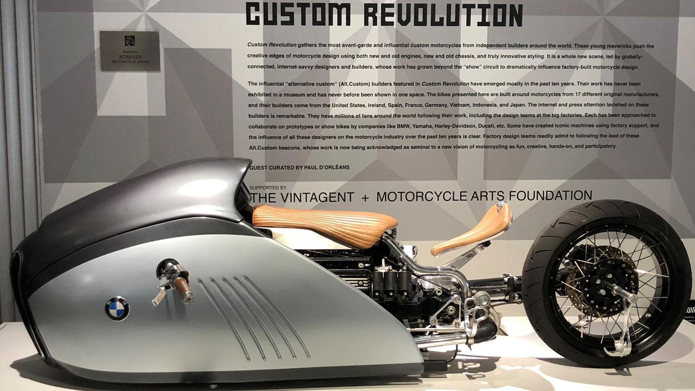 Mark Atkinson's BMW Alpha (2016), based on a concept by designer Mehmet Doruk Erdem.