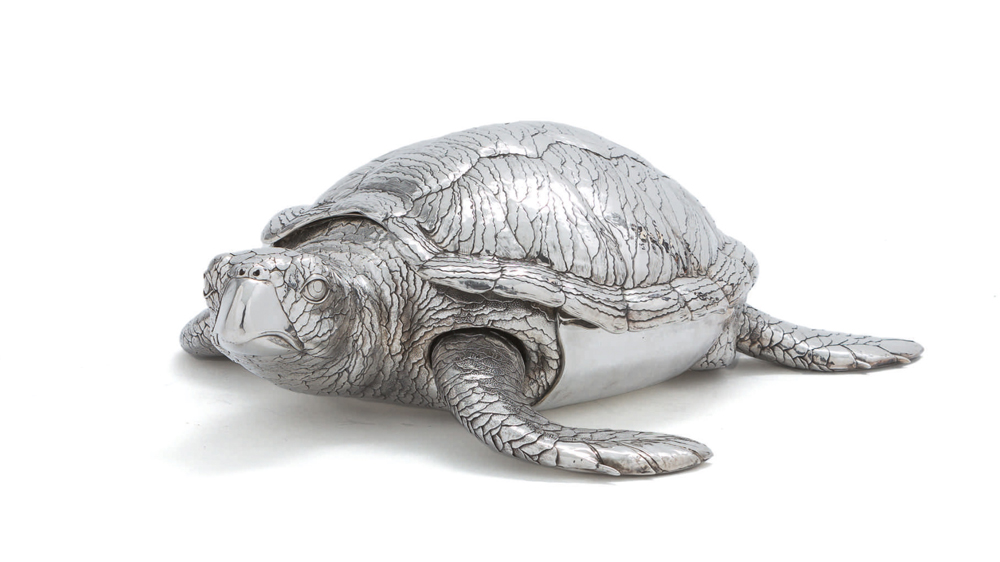 Silver Tortoise Tureen Buccellati