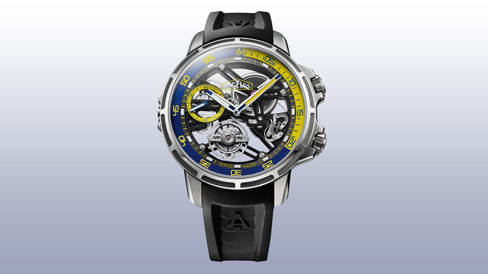 Angelus U50 Diver Tourbillon watch