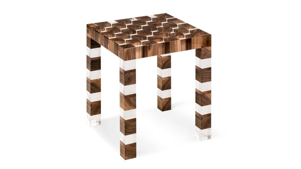 Checkerboard Armani/Casa side table