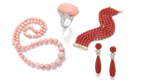 Assael coral jewelry