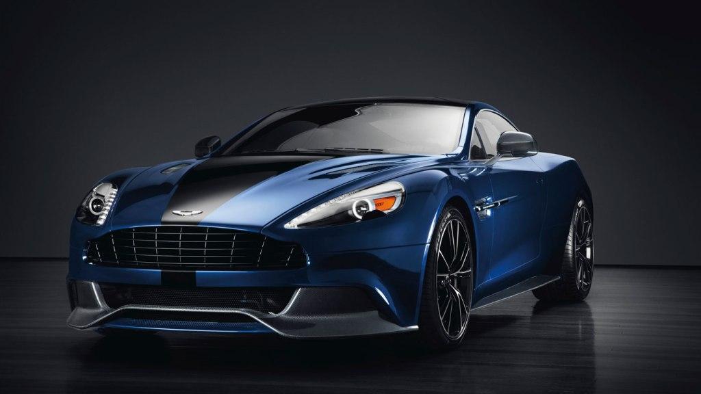 Daniel Craig's 2014 Aston Martin Centenary Edition Vanquish.