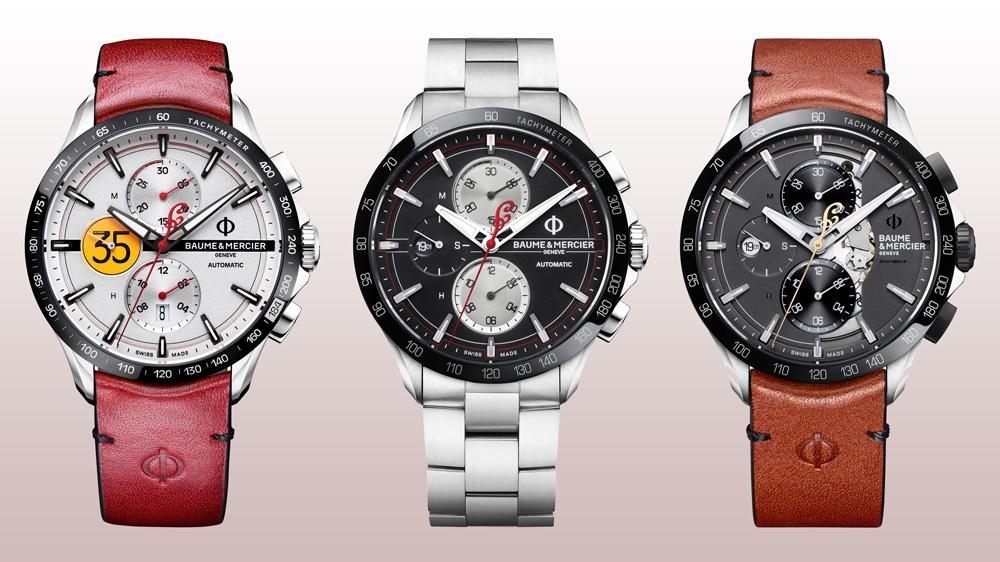 Baume & Mercier x Indian Motorcycles Timepieces