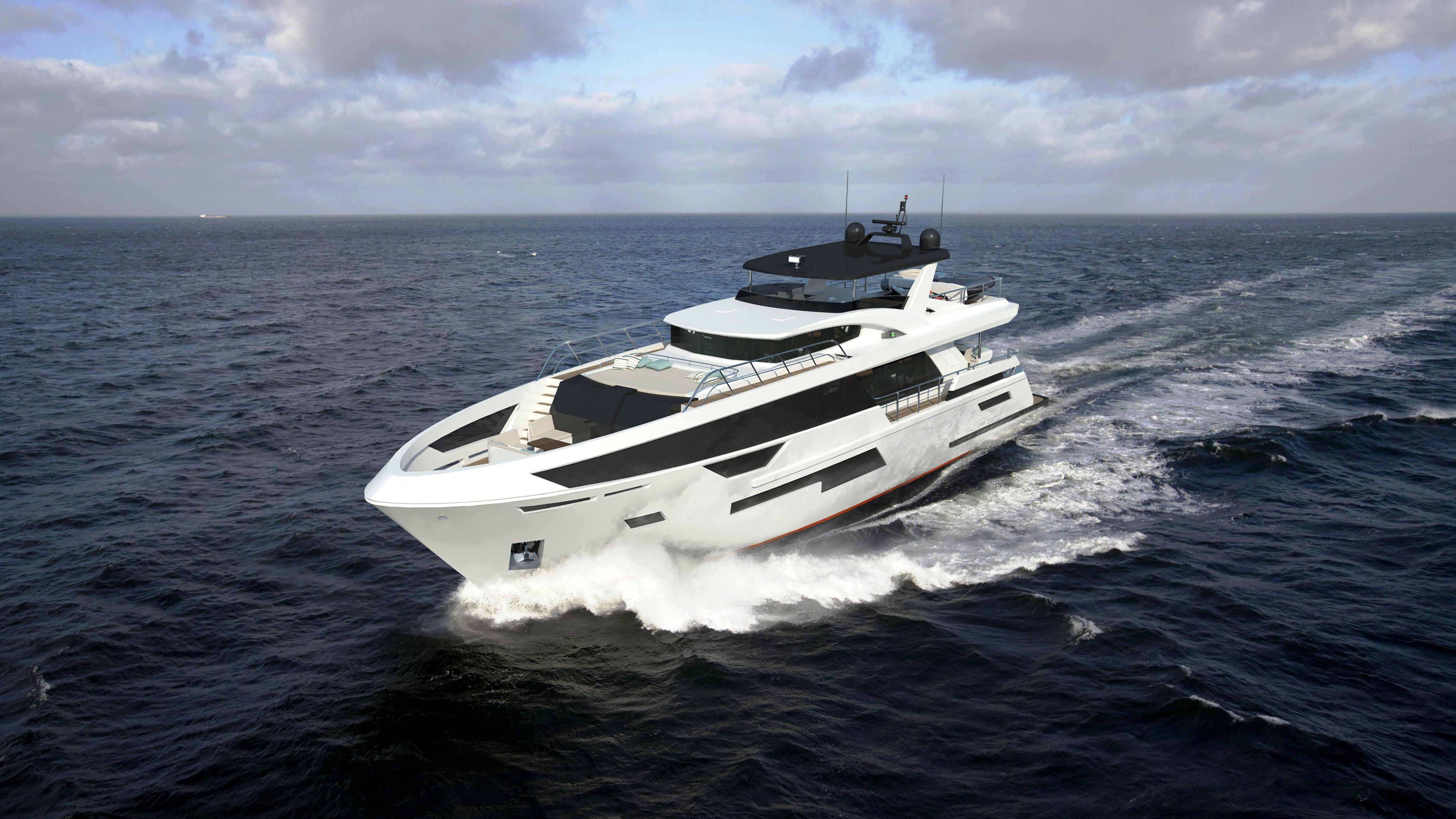 Bering 92 Custom Yacht