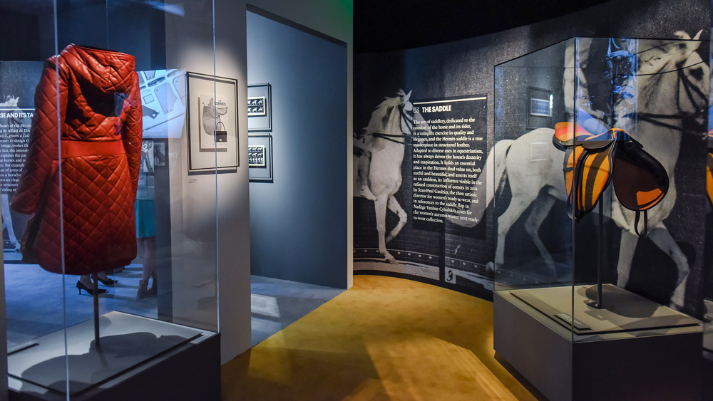 Hermès Heritage's Harnessing the Roots Exhibition