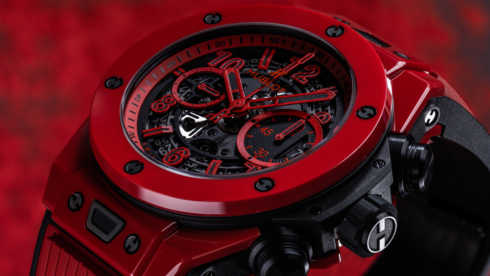 Hublot Big Bang Unico Red Magic watch
