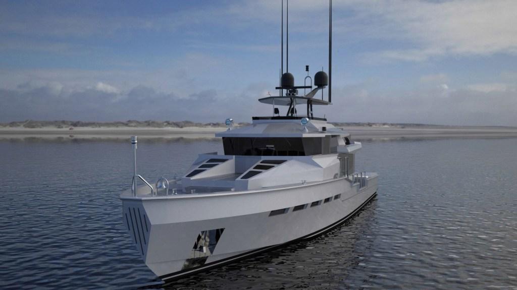 Bill Prince Yacht Design T- 77 Tactical Custom Boats