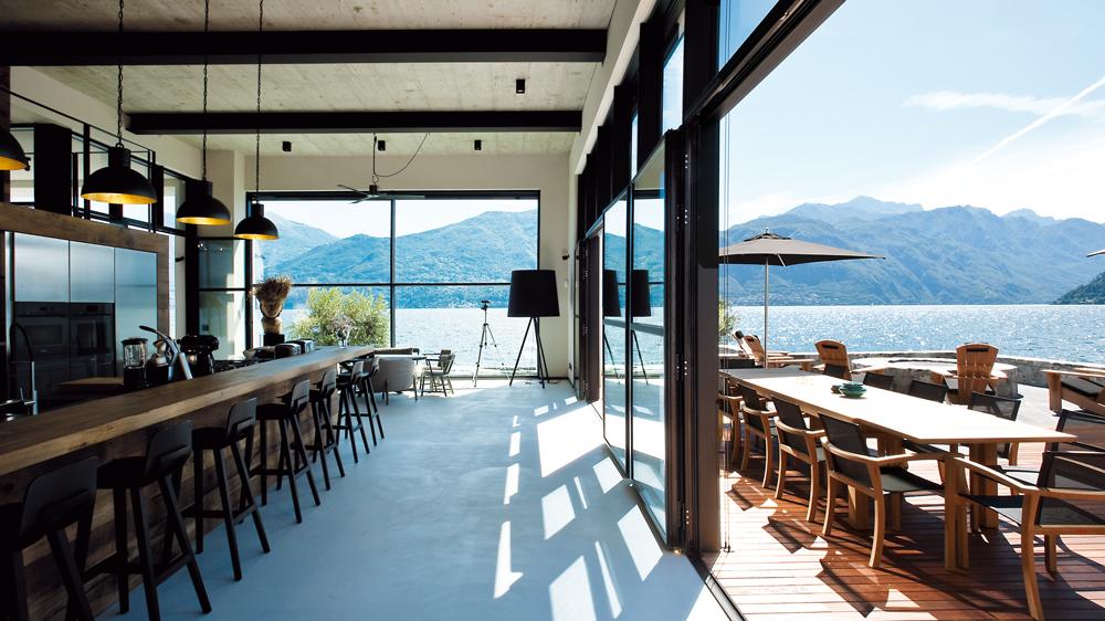 The Boat House on Lake Como