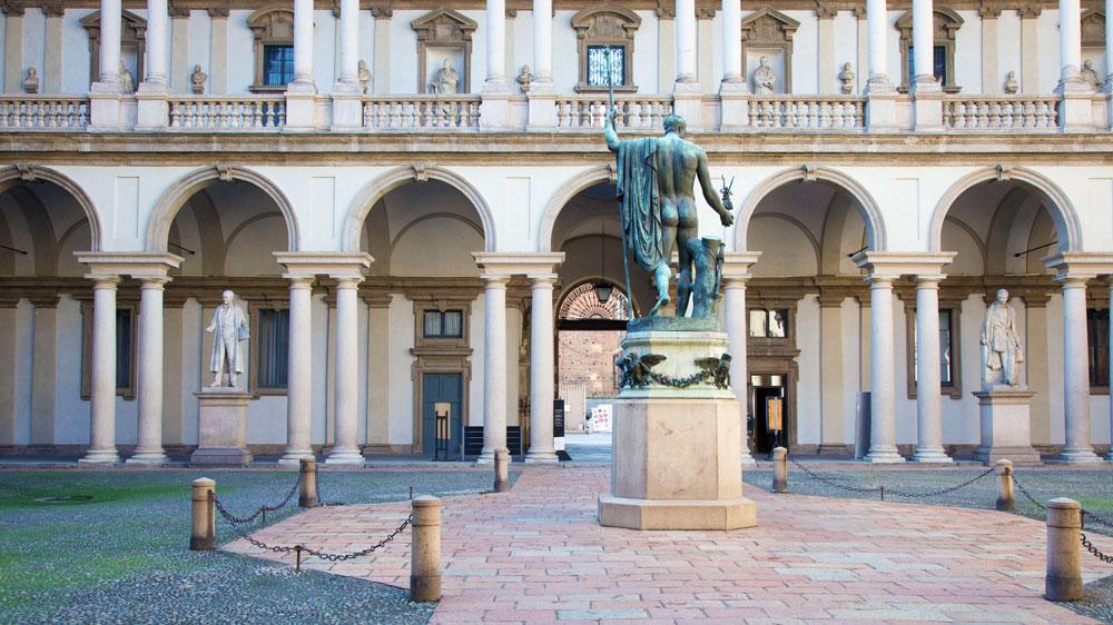 The Brera Gallery at the Pinacoteca