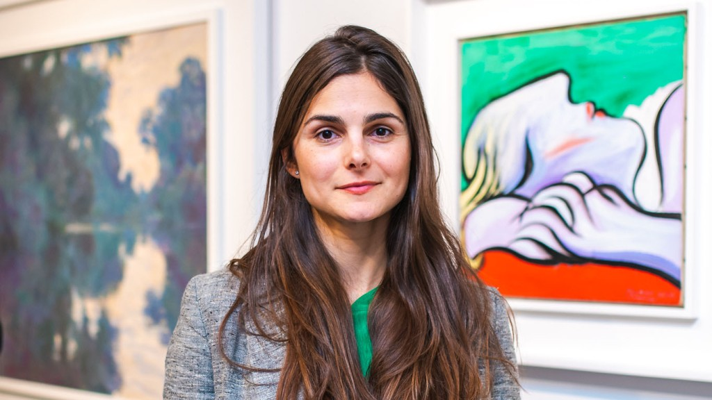 Sotheby's VP Brooke Lampley Picasso
