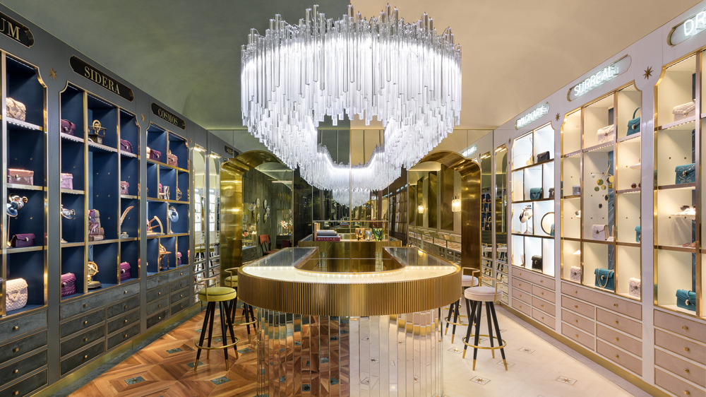 Bulgari and Gucci unveil curiosity shops in Italy.