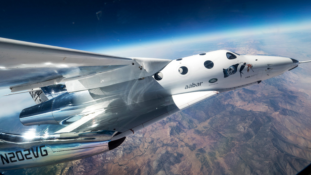 Virgin Galactic SpaceShipTwo flight
