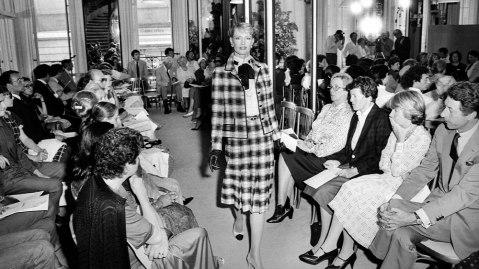 Chanel runway 1982